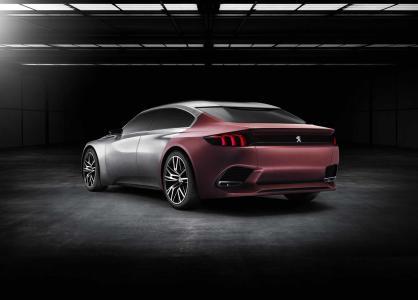 Peugeot Exalt Concept: 340 CV a través del sistema híbrido HYbrid4