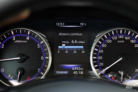 Prueba: Infiniti Q50 2.2d GT (equipamiento, comportamiento, conclusión)