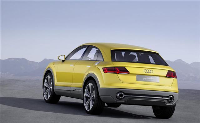 Audi TT offroad concept, ya es oficial 3