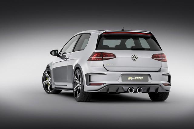 Oficial: Volkswagen Golf R400 Concept 2