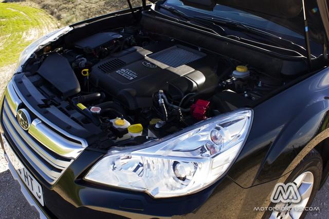 Prueba: Subaru Outback Diésel Lineartronic  (diseño, habitáculo, mecánica) 10