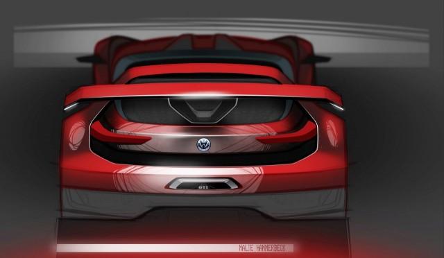 El Volkswagen Golf GTI Vision Gran Turismo estará en el Wörthersee Tour 2