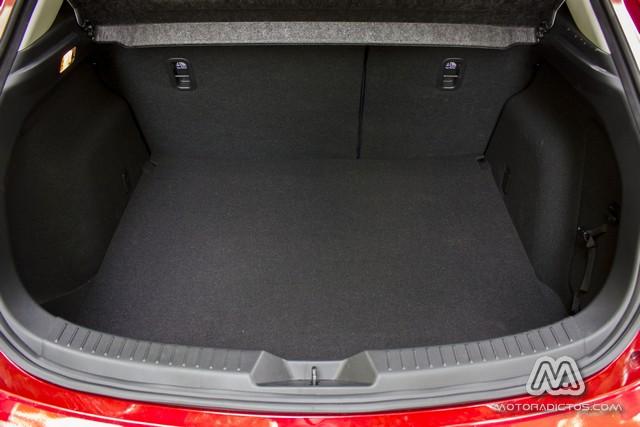 Prueba: Mazda 3 SkyActiv-G 100 CV (diseño, habitáculo, mecánica) 9