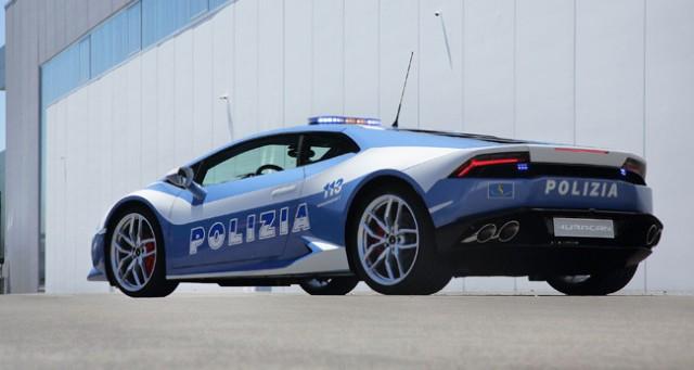Un Lamborghini Huracán para la policía italiana 2