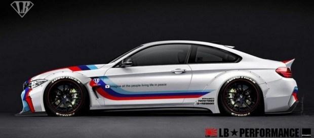 Este es el BMW Serie 4 de Liberty Walk
