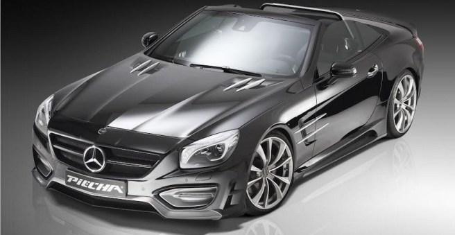 Piecha Design se atreve con el Mercedes SL