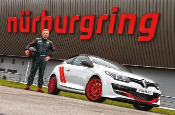 El Renault Mégane RS 275 Trophy-R hace Nürburgring en 7:54,36, récord tracción delantera