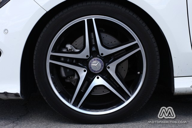 Prueba: Mercedes Benz CLA 220 CDI AMG Line (diseño, habitáculo, mecánica) 12