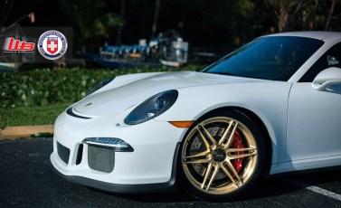 Llantas de aleación HRE Performance para el Porsche 911 GT3