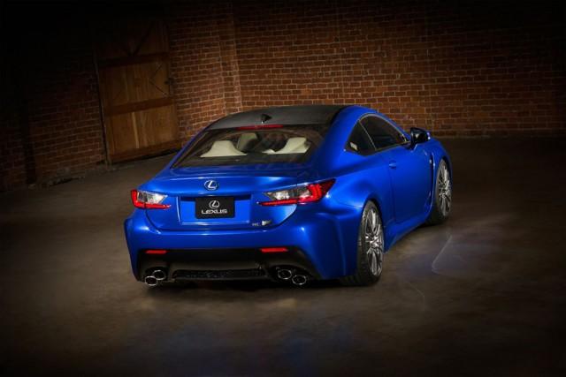 Ahora si, Lexus hace oficial el RC-F
