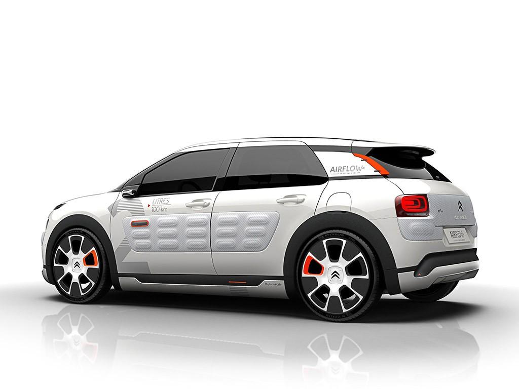 Citroën C4 Cactus Airflow 2L: Un prototipo que consume 2l/100 km 1