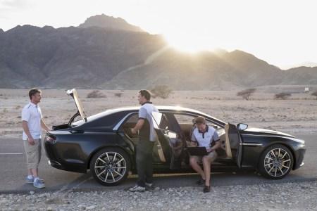 Así es el interior del espectacular Aston Martin Lagonda