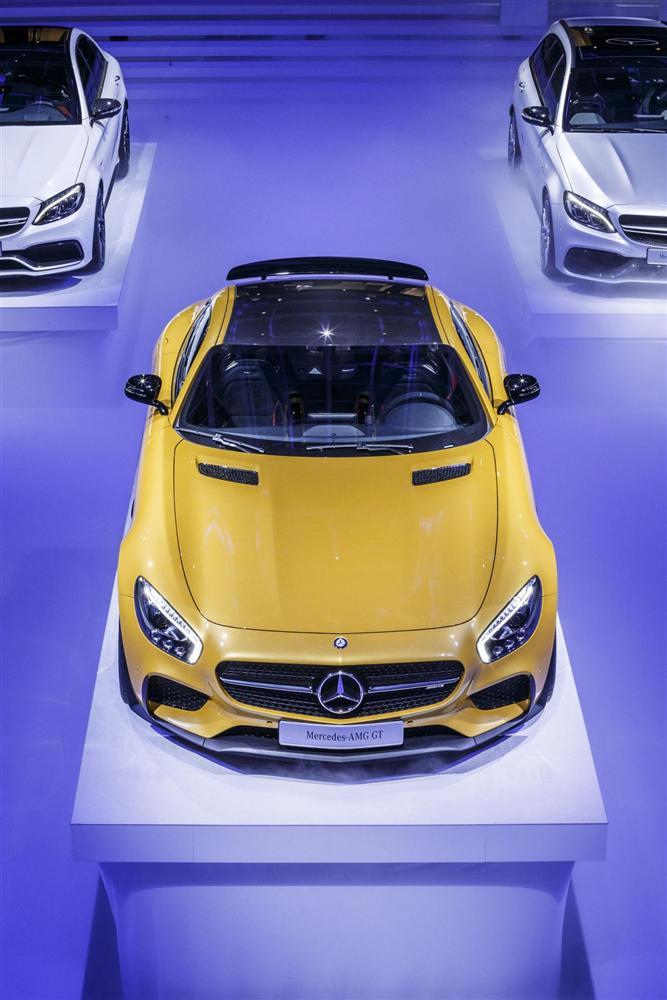 París 2014: Mercedes AMG GT, así ha sido el debut 2