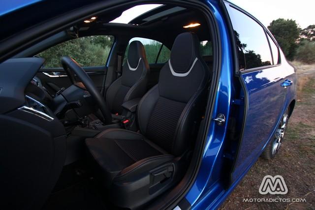 Prueba: Skoda Octavia RS TDI 184 CV (diseño, habitáculo, mecánica) 8