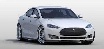 Mejoras estéticas para el Tesla Model S por RevoZport