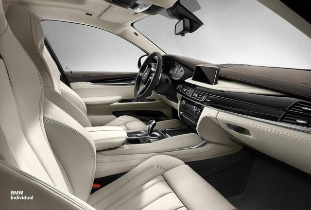 BMW X5 y X6 M Individual: La potencia no está reñida con la elegancia 1