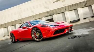 Ferrari 458 Speciale, ahora con llantas ADV.1