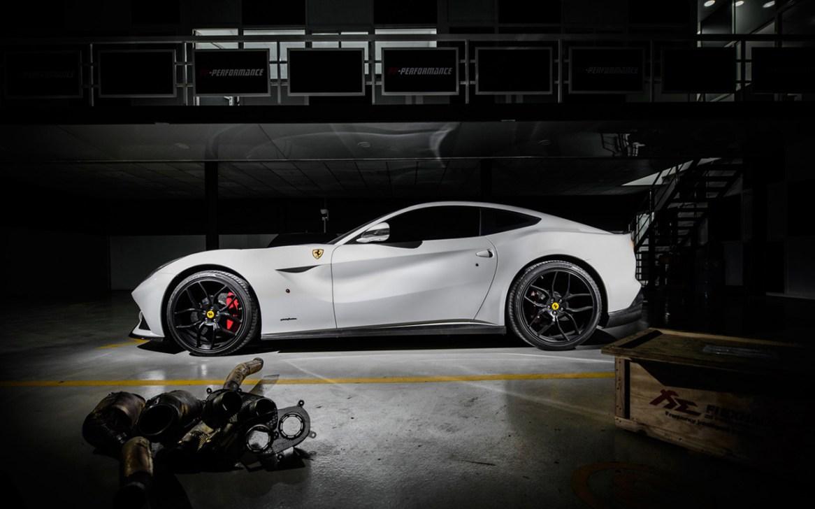 Ferrari F12berlinetta bajo el rodillo de PP-Performance
