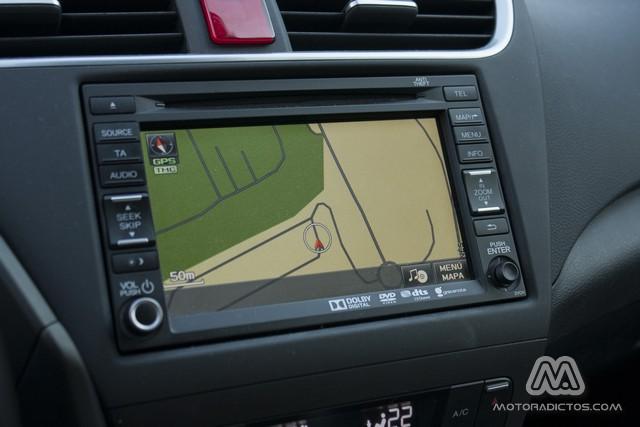 Prueba: Honda Civic Tourer 1.6 i-DTEC 120 CV Lifestyle (diseño, habitáculo, mecánica) 9