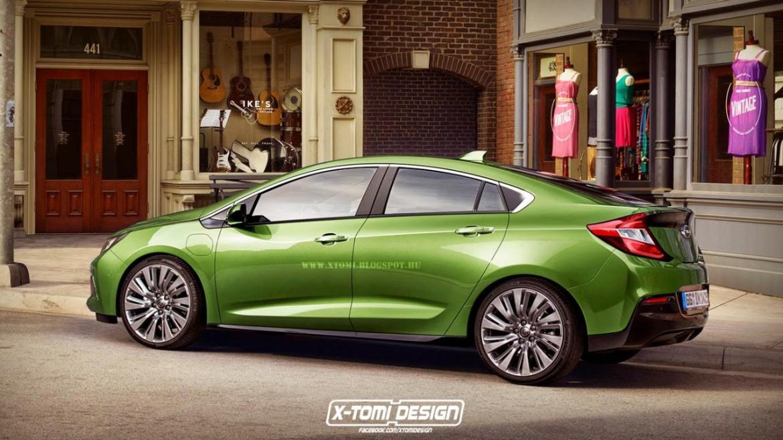 Un vistazo al próximo Opel Ampera 1