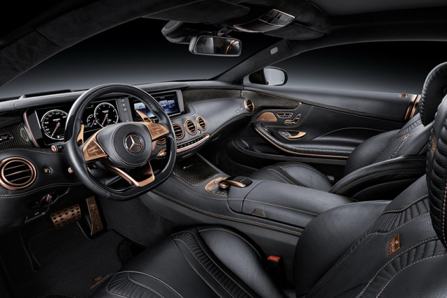850 caballos para el Mercedes S Coupé de Brabus 2