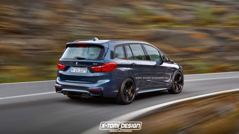 Así sería el BMW Serie 2 Gran Tourer M235i xDrive 1