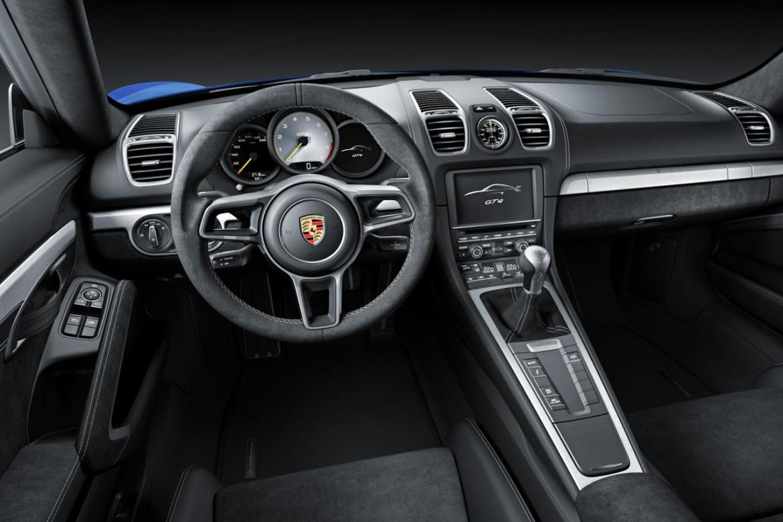 Oficial: Porsche Cayman GT4 1