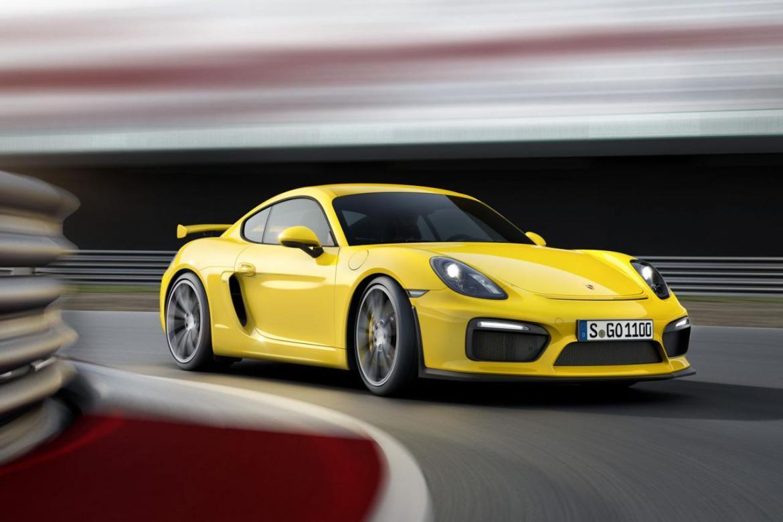 Oficial: Porsche Cayman GT4 4