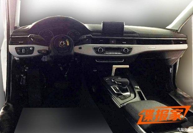 Así es el frontal y el interior del nuevo Audi A4, más cerca del debut oficial 2