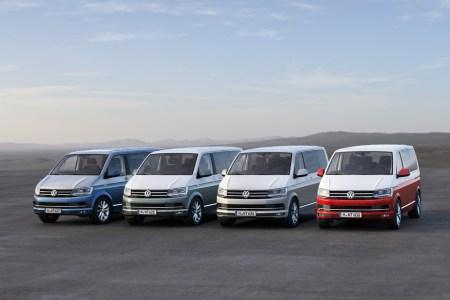 Esta es la nueva Volkswagen T6: La sexta generación estará disponible a partir de Julio
