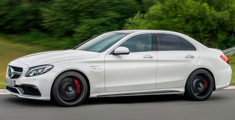 El Mercedes Clase C Coupé se deja ver en carretera 2
