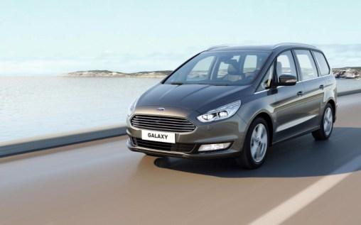 Ford Galaxy 2015: El monovolumen de siete plazas llega ahora con mucho más equipamiento