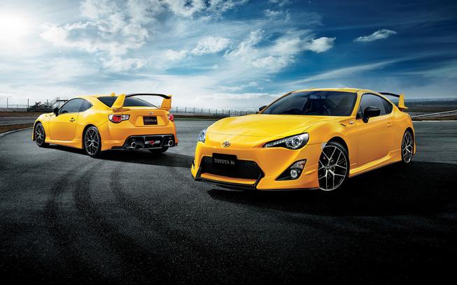 Toyota GT86 Yellow Limited: El deportivo de Toyota se viste de amarillo piolín 1