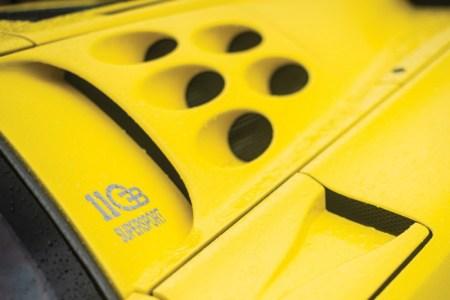 Bugatti EB110 Super Sport: Una de las 33 unidades a subasta