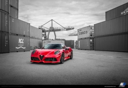 Alfa Romeo 4C por Zender: 274 CV de puro nervio italiano