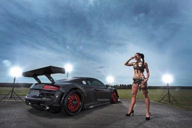 RECON MC8: Un Audi R8 V10 con 950 CV, propulsión trasera y kit de carrocería en fibra de carbono