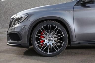 Hasta 446 caballos extraídos del Mercedes GLA 45 AMG gracias a Väth
