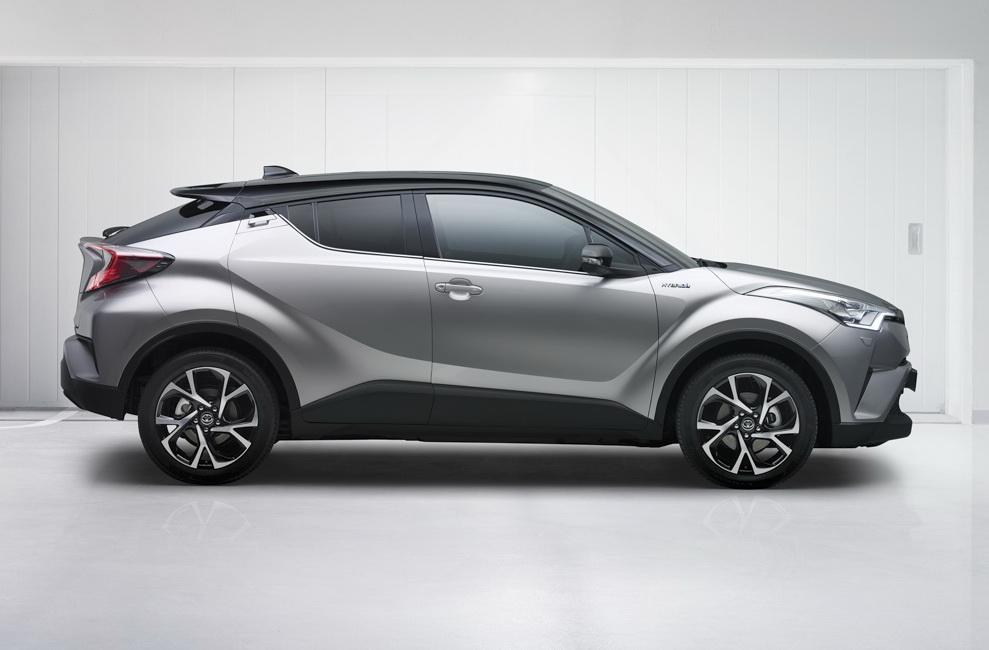 Toyota prevé una versión eléctrica del C-HR, podría llegar a España