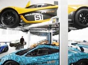¿Cómo es el lugar donde dan a luz los McLaren P1 GTR?