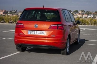 Prueba: Volkswagen Golf Sportsvan 1.6 TDI 110 CV DSG (equipamiento, comportamiento, conclusión)