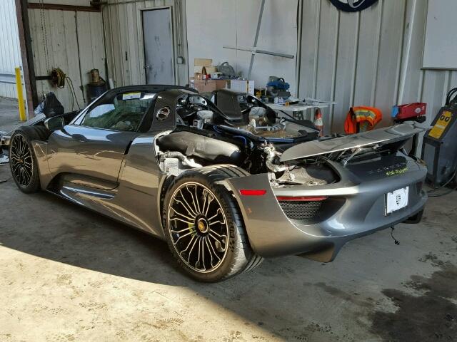 ¿Quieres un Porsche 918 Spyder por 70.000 euros? Quizá esta sea tu ocasión de oro 1