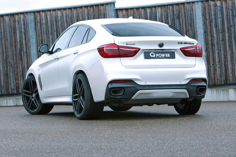 El BMW X6 M50d de G-Power tiene 455 CV y 870 Nm de par 2
