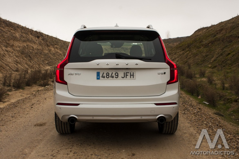 Prueba: Volvo XC90 D5 AWD (diseño, habitáculo, mecánica) 5
