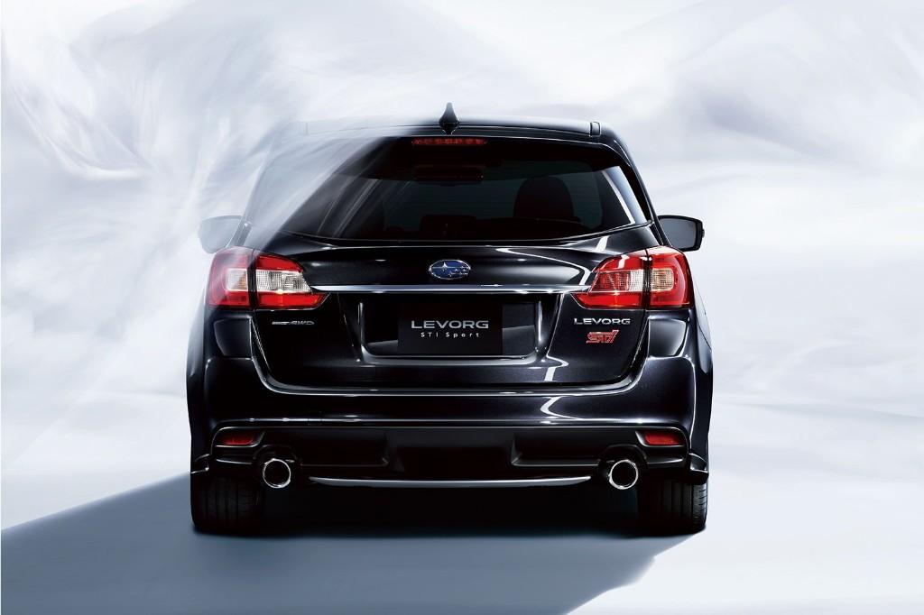 El Subaru Levorg STI Sport Wagon combina amplitud y hasta 300 CV de potencia 2