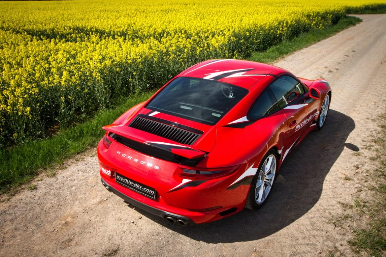 MCChip le saca juego al nuevo Porsche 911 Carrera S: Ahora con 485 CV 1