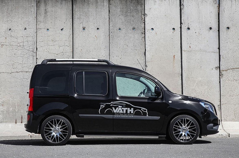 Väth refuerza la deportividad de la Mercedes-Benz Citan CDI: ¡Ahora con 135 CV! 17