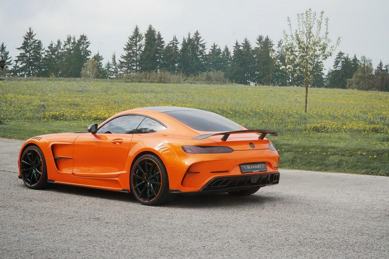 Así de espectacular luce el Mansory Mercedes-AMG GT en otros colores 8