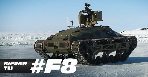 Así son los 'coches de hielo' de la nueva Fast & Furious 8