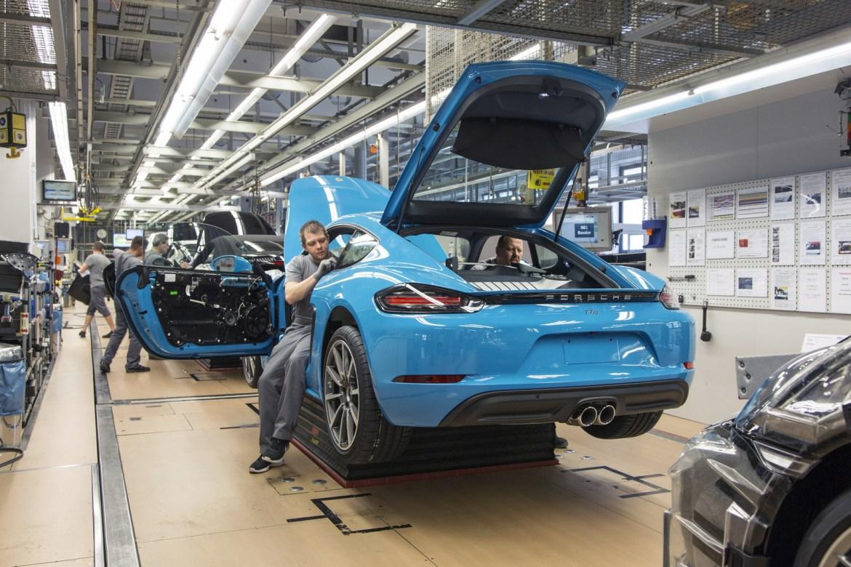 El Porsche 718 Cayman comienza su producción en Zuffenhausen 2