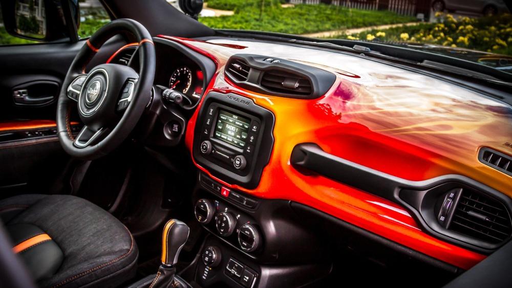 Jeep Renegade Hell's Revenge: Un one-off creado con Harley-Davidson 5
